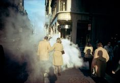Joel Meyerowitz. New York City, 1975. Cortesía de Howard Greenberg Gallery