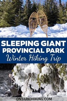 Hiking Routes, Hiking Europe, Hiking Spots, Go Hiking, Hiking Trails, Winter Hiking, Winter Travel, Ontario Camping, Ontario Parks