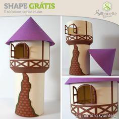 Shape da semana 34 Silhouette Brasil - Torre da Rapunzel
