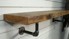 We will make these this weekend.  Pine shelf.