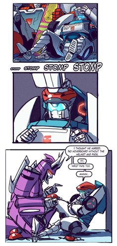 This has got to be one of the cutest comics of these two. =3