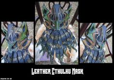 Leather Cthulhu Mask by Epic-Leather on DeviantArt