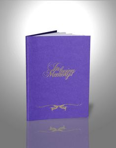 Funeral booklets design & print, funeral order of service, online order Order Of Service, Calming, Booklet, Helping People, First Love, Reflection, Memories, Purple, Life