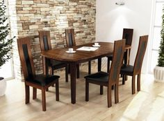 Dining Table Design, Dining Chairs, Modern Design, Furniture, Home Decor, Decoration Home, Room Decor, Contemporary Design, Dining Chair