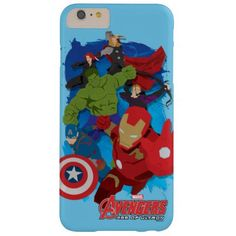 The Avengers Painted Cartoon Graphic Barely There iPhone 6 Plus Case