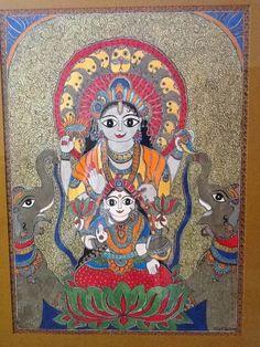Vishnu And Lakshmi Offer Blessings by Bharti Dayal !