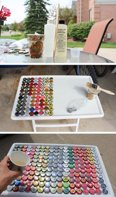 What to do with all your leftover bottle caps?! Check it out!