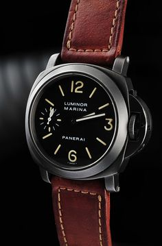 "Panerai Luminor Marina ""Black Knight"".  You just can't go wrong with a Panerai."