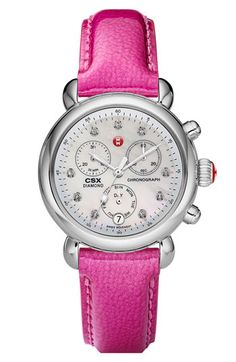 Michele watch--interchangeable bands