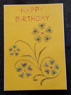 Geburtstagskarte für eine Freundin