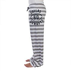 Or these.... Dallas Cowboys Rose Striped Jersey Pant