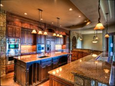 Beautiful Texas Hill Country Kitchen