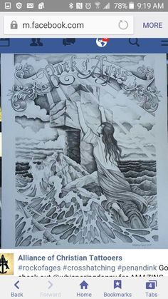 Jesus Tattoo, Cross Hatching, Rock Of Ages, Christian, Art, Christians, Kunst, Art Education, Artworks