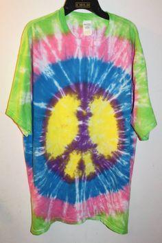 Peace Sign Size XL - Sunshine Tie Dye Shop