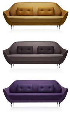 FAVN Sofa by Jaime Hayon for Danish furniture design company Fritz Hansen. So beautiful..