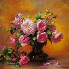 Image detail for -From the Rose Garden by Albert Williams Art Print - WorldGallery.co.uk