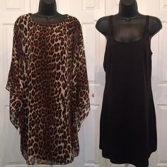 Leopard Print Chico's Great condition. Size 1 fits on medium.  Chico's Dresses