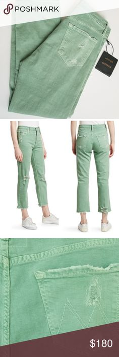 21407837ae4 MOTHER SUPERIOR Tomcat Chew Jeans Beautiful Mother Superior Jeans in Tomcat  Chew. High