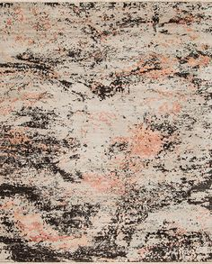 Artist Wool & Silk - Creation - Samad - Hand Made Carpets Creation Homes, Rugs On Carpet, Carpets, Floor Art, Home Rugs, Natural Texture, Modern Rugs, Pink Rugs, Vintage World Maps