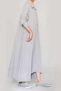 Linen Ayni Dress by LINUM - Linen Style-7 Linenstyle Duster Coat, Nature, Jackets, Clothes, Dresses, Style, Fashion, Down Jackets, Outfits