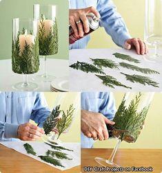 Creativa idea,de velas decoradas.