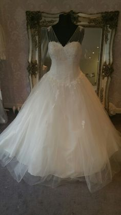 9bc3730ae59 Amanda wyatt Jenni Perfect for girls with curves like myself. Available at  Elenor Rose Bridal