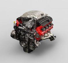 Dodge Reveals More Details on the Demon's Engine Hellcat Engine, Hemi Engine, Car Engine, 2018 Dodge Challenger Srt, Challenger Srt Demon, Dodge Hemi, Dodge Pickup, Interior Design Website, Interior Design Services