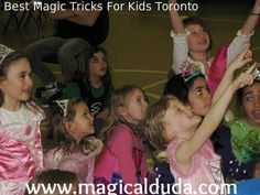 Are you looking for Best Magic Tricks For Kids Toronto? Your search completed here, our magicians performs new tricks for entertainment. See more. http://www.magicalduda.com/