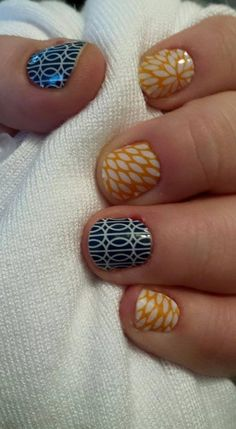 Mad Mod and Sunny Lotus Jamberry wraps. Fast and easy wraps from Jamberry that lasts up to 2 weeks. Contact me at themagicofjams@yahoo.com