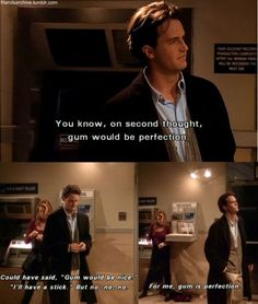 ♥ Chandler Bing