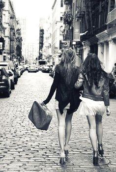 Amanda & I when we go to Europe!!
