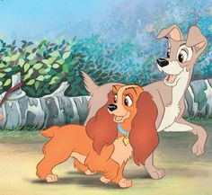 Lady and the tramp!!