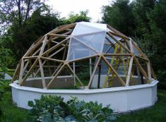 geodesek is cool whether out of glass or other materials, but I like a hot house design best