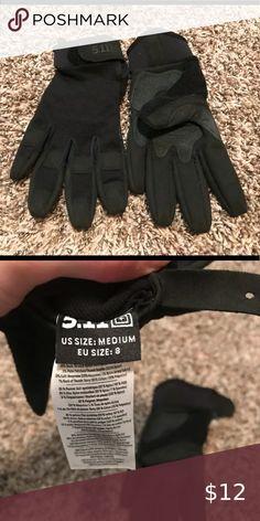 X-Large Blackhawk S.O.L.A.G HD Gloves w// Kevlar Black