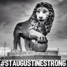 Thinking about and praying for all my friends that live and work in St Augustine. I love you guys stay strong and if I can help in any way PLEASE let me know!! #staugustinestrong #hurricanematthewaftermath  #dontgiveup
