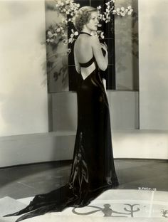 """Roberta"" 1935. A musical with Irene Dunne, Fred Astaire and Ginger Rogers. Costumes by Bernard Newman."