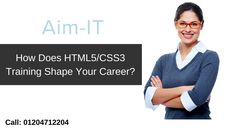 An experienced #HTML5 #CSS3 developer with the SEO-optimized code can weave magic by developing it for an effective website.  Contact info - 01204712204  Email us- hello@aim-it.org  Visit - http://www.aim-it.org/