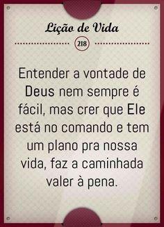 #Deus está no comando #fé #poramorascausasperdidas #trechos #god #life #livros #pensadores
