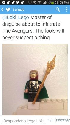 Those avengers will not see past Loki's trick