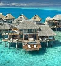 Hilton in Bora Bora... it's like $530/night.  I already converted French Polynesian Francs to US$.  Who is coming with me??    Enjoy views of the lagoon from your private water-side balcony or relax in your king canopy bed and watch Bora Bora's exotic marine life float past the glass floor-viewing panels. Unwind in the Italian marble bathroom or stay entertained in the separate seating area with satellite TV and high-speed internet access.