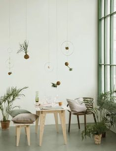 8 Colour Trends from Maison & Objet Fair to Look Out For in 2020 Color Trends, Dining Table, House Styles, Furniture, Green, Home Decor, Home Decoration, Decoration Home, Room Decor