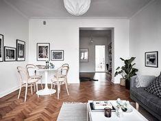 Post: Decoración ligera a falta de espacio --> blog decoración nórdica, cocina blanca, decoración escandinava, decoración espacios pequeños, Decoración ligera a falta de espacio, diseño interiores, muebles ligeros, pisos pequeños interiores