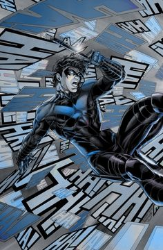 Nightwing in Blue with Night wing #19(x-post from /r/dccomics - Imgur