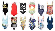 Vamos à praia. 30 fatos de banho que fazem esquecer o biquíni