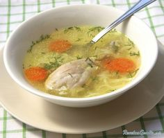 Homemade chicken noodle soup from scratch is easy to make. To get the most flavor out of your soup, professional chefs recommend using chicken thighs and legs. Chicken Thighs Soup, Chicken Soup, Low Fat Soups, Coconut Chicken, Water Recipes, Corn Soup Recipes, Gluten Free Chicken, Soups And Stews, Food Videos