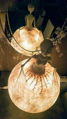 Sculpture de lumière  By Tania