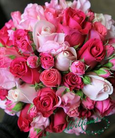 I lightly sprayed white hydrangeas pink. Someone commented that they remind the of the hydrangeas in Nantucket - Salvabrani Red Bouquet Wedding, Pink Bouquet, Floral Bouquets, Beautiful Rose Flowers, Amazing Flowers, Beautiful Flowers, Pink Roses, Pink Flowers, Pale Pink