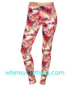 Floral leggings St whimsy