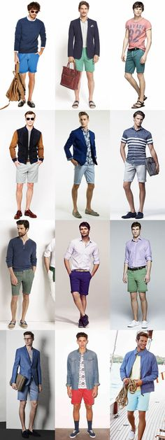 Men's Shorts - Outfit Inspiration Lookbook