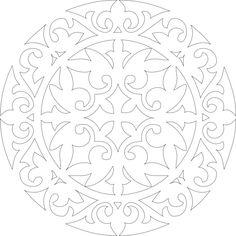 казахский орнамент, орнаменты, мотивы, узоры, картинки, шаблоны, макеты, шаблоны казахский орнамент, круглый орнамент, орнамент в круге